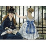 Puzzle  Grafika-01744 Edouard Manet : The Railway, 1873
