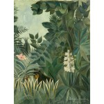 Puzzle  Grafika-01756 Henri Rousseau: The Equatorial Jungle, 1909