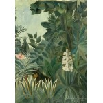Puzzle  Grafika-01757 Henri Rousseau: The Equatorial Jungle, 1909
