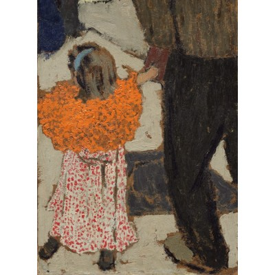 Puzzle Grafika-01811 Edouard Vuillard: Child Wearing a Red Scarf, 1891