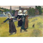 Puzzle  Grafika-01832 Paul Gauguin: Breton Girls Dancing, Pont-Aven, 1888