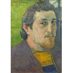 Puzzle  Grafika-01837 Paul Gauguin: Self-Portrait Dedicated to Carrière, 1888-1889