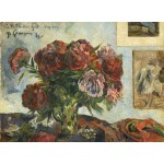 Puzzle  Grafika-01856 Paul Gauguin: Still Life with Peonies, 1884