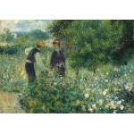 Puzzle  Grafika-01892 Auguste Renoir: Picking Flowers, 1875