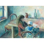 Puzzle  Grafika-02042 Camille Pissarro: The Children, 1880