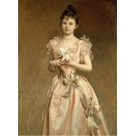 Puzzle  Grafika-02068 John Singer Sargent: Miss Grace Woodhouse, 1890