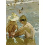 Puzzle  Grafika-02113 Joaquin Sorolla y Bastida: The Wounded Foot, 1909