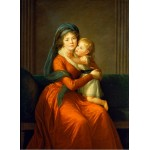 Puzzle  Grafika-02197 Louise-Élisabeth Vigee le Brun: Princess Alexandra Golitsyna and her son Piotr, 1794