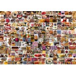 Puzzle  Grafika-02206 Collage - Kuchen