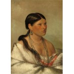 Puzzle  Grafika-02233 George Catlin: The Female Eagle - Shawano, 1830