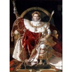 Puzzle  Grafika-02254 Jean-Auguste-Dominique Ingres: Napoléon on the Imperial Throne, 1806