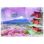 Puzzle  Grafika-02276 Travel around the World - Japan