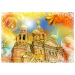 Puzzle  Grafika-02280 Travel around the World - Russland