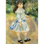 Puzzle   Auguste Renoir : Girl with a Hoop, 1885
