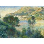 Puzzle   Auguste Renoir - View of Monte Carlo from Cap Martin