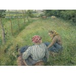 Puzzle   Camille Pissarro: Young Peasant Girls Resting in the Fields near Pontoise, 1882