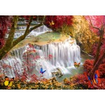 Puzzle   Deep Forest Waterfall