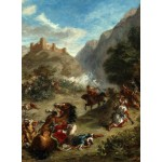 Puzzle   Eugène Delacroix: Arabs Skirmishing in the Mountains, 1863