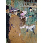 Puzzle   Henri de Toulouse-Lautrec: Quadrille at the Moulin Rouge, 1892