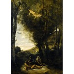 Puzzle   Jean-Baptiste-Camille Corot: Saint Sebastian Succored by the Holy Women, 1874