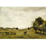 Puzzle   Jean-Baptiste-Camille Corot: View near Epernon, 1850-1860