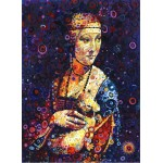 Puzzle   Leonardo da Vinci: Lady with an Ermine, by Sally Rich