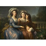 Puzzle   Louise-Élisabeth Vigee le Brun: The Marquise de Pezay, and the Marquise de Rougé with Her Sons Alexi