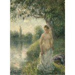 Puzzle   Pissarro Camille: The Bather, 1895