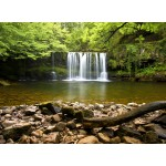 Puzzle   Sgwd Clun-Gwyn Waterfall near Neath