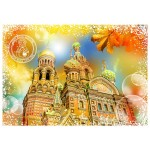 Puzzle  Grafika-T-00213 Travel around the World - Russland