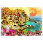 Puzzle  Grafika-T-00215 Travel around the World - Italien
