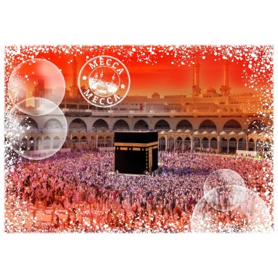 Puzzle Grafika-T-00221 Travel around the World - Saudi-Arabien