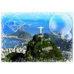 Puzzle  Grafika-T-00227 Travel around the World - Brasilien
