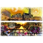 Puzzle  Grafika-T-00232 Travel around the World - Belgien und Niederlande