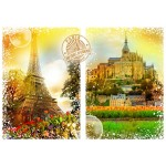 Puzzle  Grafika-T-00243 Travel around the World - Frankreich
