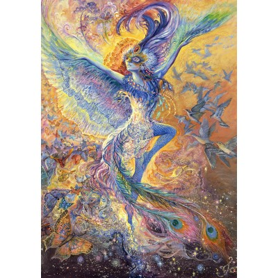 Puzzle Grafika-T-00269 Josephine Wall - Blue Bird