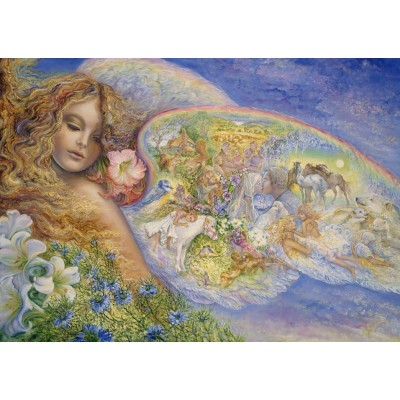 Puzzle Grafika-T-00291 Josephine Wall - Wings of Love