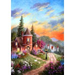Puzzle  Grafika-T-00518 Dennis Lewan - Castle Ridge Manor