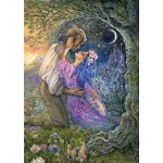 Puzzle  Grafika-T-00542 Josephine Wall - Love Between Dimensions