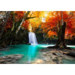 Puzzle  Grafika-T-00628 Deep Forest Waterfall