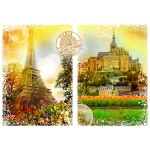 Puzzle   Travel around the World - Frankreich
