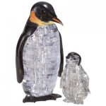 3D Crystal Puzzle - Pinguine