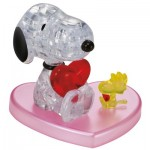 HCM-Kinzel-59184 3D Puzzle - Snoopy in Love