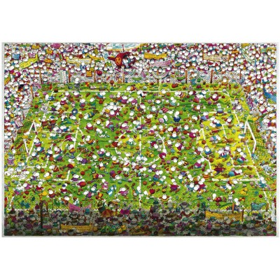 Puzzle Heye-29072 Mordillo: Crazy World Cup