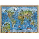 Puzzle  Heye-29386 Amazing World