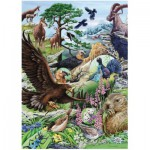Puzzle  Heye-29618 Marion Wieczorek: Flora & Fauna High Mountains