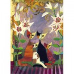 Puzzle  Heye-29819 Rosina Wachtmeister - Lilies