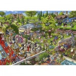 Puzzle  Heye-29838 Birgit Tanck - Party Cats
