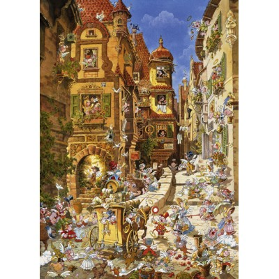 Puzzle Heye-29874 Michael Ryba - By Day