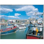 Puzzle  James-Hamilton-Deluxe-3006 Harbour Scene